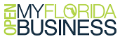 OpenMyFloridaBusiness Color Logo