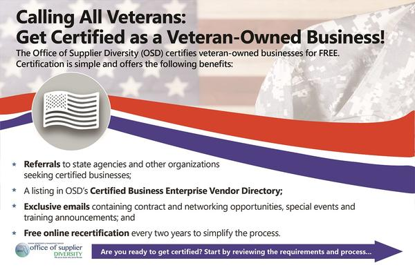 Veteran-Owned Small Business Flyer